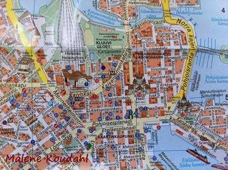 Kort Helsinki